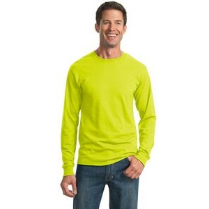 JERZEES® Men's Dri-Power® 50/50 Cotton/Poly Long Sleeve T-Shirt